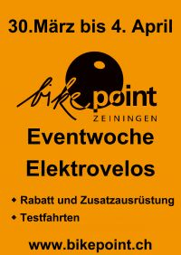 Eventwoche Elektrovelos